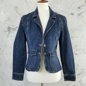 GLORIA VANDERBILT Denim Jean Jacket Size Small